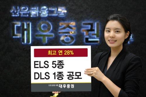 대우證, ELS 5종 DLS 1종 신규공모