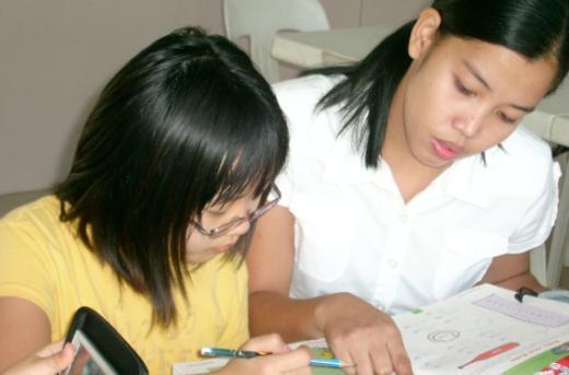 ↑독해력 향상캠프는 학생 수준별 맞춤식 교육을 진행한다.