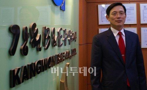 """이영규 대표 """"강원비앤이, 이란서 잘 나가요"""""""