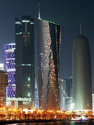 ↑ 카타르 도하 중심지 야경 ⓒ이동훈 기자