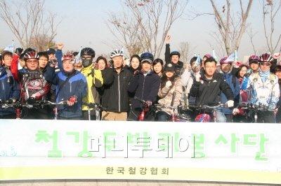 철강협회, 자전거 봉사단 발족