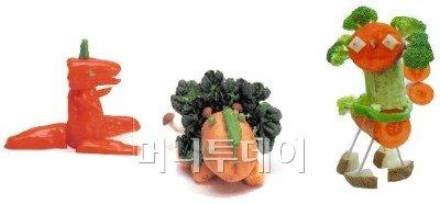 """""""먹다남은 채소로 아이 두뇌계발 해요"""""""