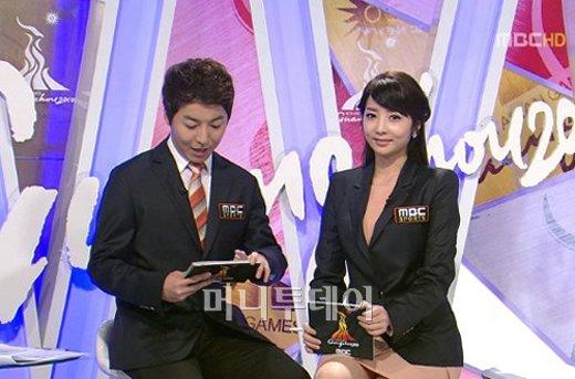 ↑ 양승은 아나운서 (사진= MBC 방송 캡처)