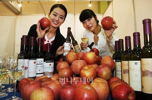 국산 토종 아이스 애플 와인, '코리아푸드엑스포'에서 첫 선!