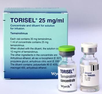 와이어스, 신장암치료제 '토리셀' 출시