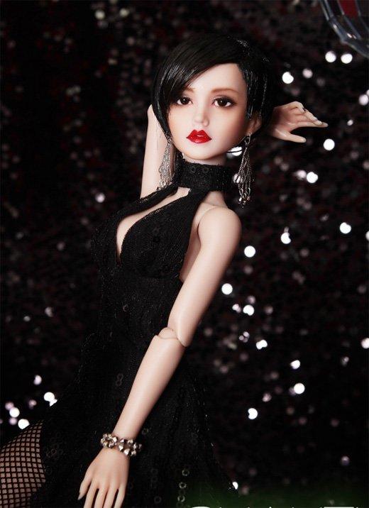 ↑코사프(대표 김창우)가 선보인 새로운 패션돌 '샤티(Shahti)'
