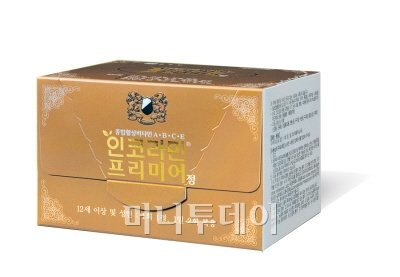 ↑ 종근당의 종합활성비타민 인코라민 프리미어 정.