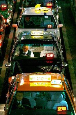 도쿄에 '와이-파이' 택시 등장