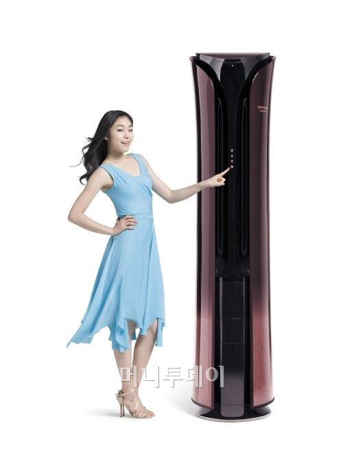 ↑ 11일 삼성이 전략적으로 출시한 '2011년 삼성하우젠 스마트 에어컨 제품'. <br />  <br />