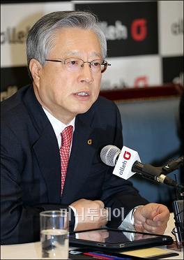 ↑ 이석채 KT 회장 ⓒ이명근 기자