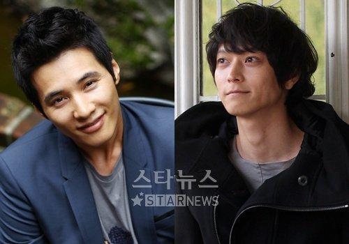 원빈(왼쪽), 강동원 ⓒ머니투데이 스타뉴스