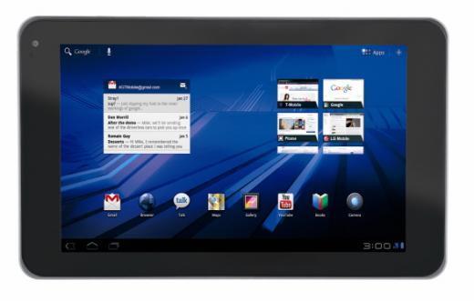 LG전자의 태블릿 PC '옵티머스 패드'