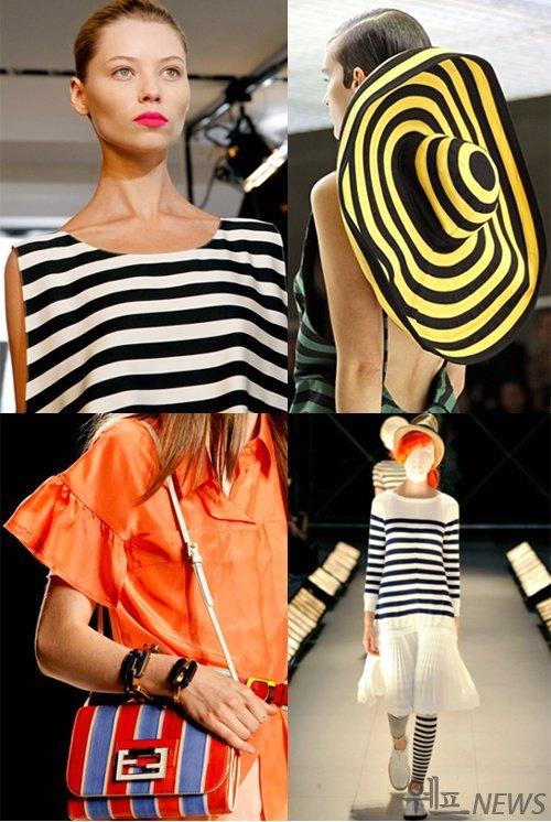 2011년 S/S  질샌더/프라다/펜디/준야 와타나베 컬렉션