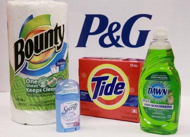 P&G의 생산제품.