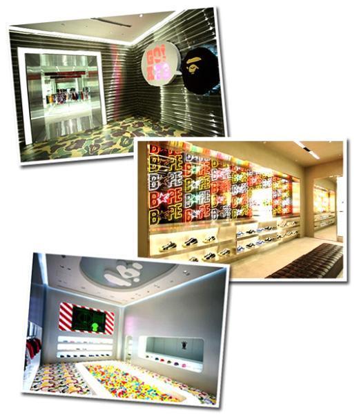 '베이프' 한국상륙, 신세계 백화점 입점