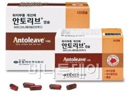 ↑ 한림제약의 하지부종 개선제 안토리브