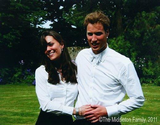 ↑윌리엄왕자와 케이트미들턴의 결혼소식을 알리는 공식홈페이지에 공개된 미들턴과 윌리엄왕자