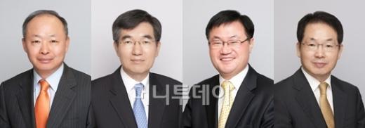 ↑ 사진 왼쪽부터 신응호, 김영대, 조영제, 김건섭 신임 부원장보.