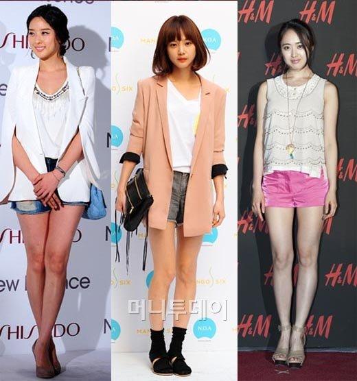 ↑(사진=왼쪽부터 이청아, 윤승아, 김민정/머니투데이 사진자료)