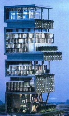 ↑ 무케시 암바니 회장의 저택