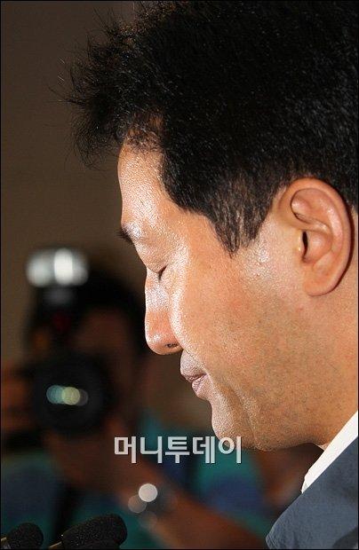 """[일문일답]오세훈 """"시장직 사퇴 아직 결심 못해"""""""