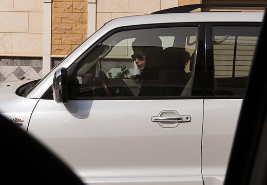 사우디아라비아의 여성이 운전을 하고 있다 (사진=AFP)  News1