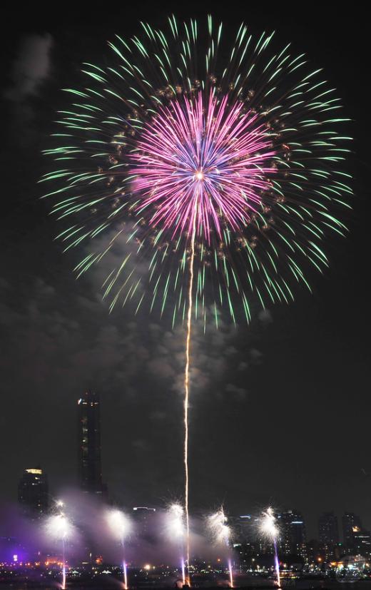 [사진]불꽃이여! 꽃이 되어라!