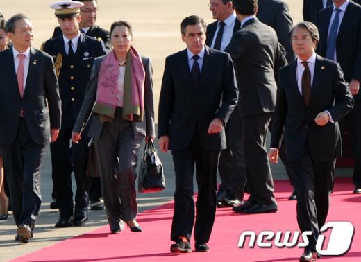 [사진]'프랑스 총리 20년 만의 방한'