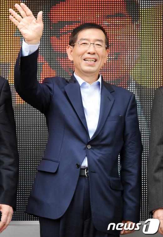 [사진]박원순 '새로운 서울 만듭시다'