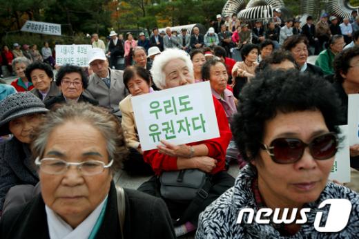 [사진]중국동포 1세, '우리도 유권자다!'