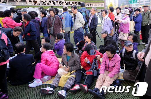 [사진]'한우의 날' 줄을 서시오!