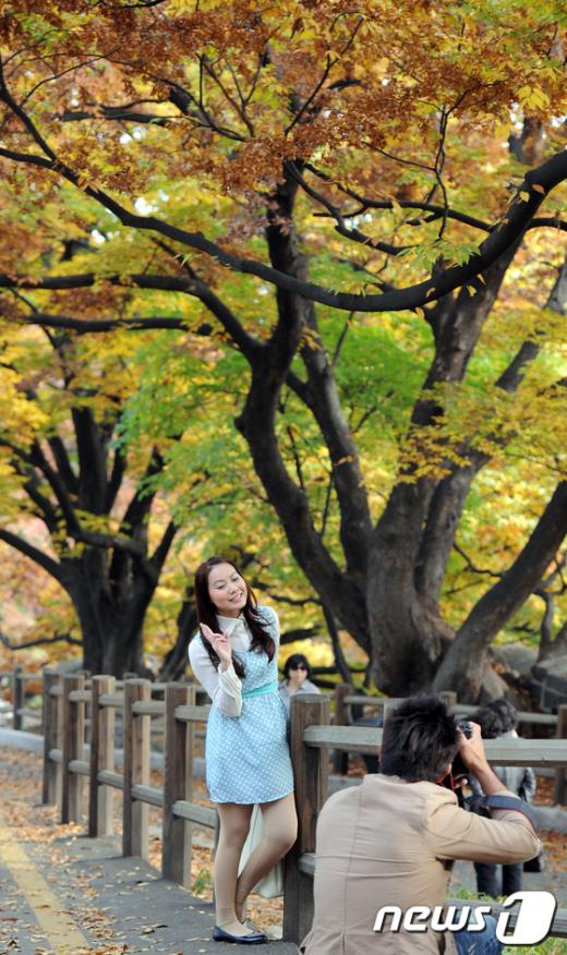 [사진]가을 수채화 그린 남산