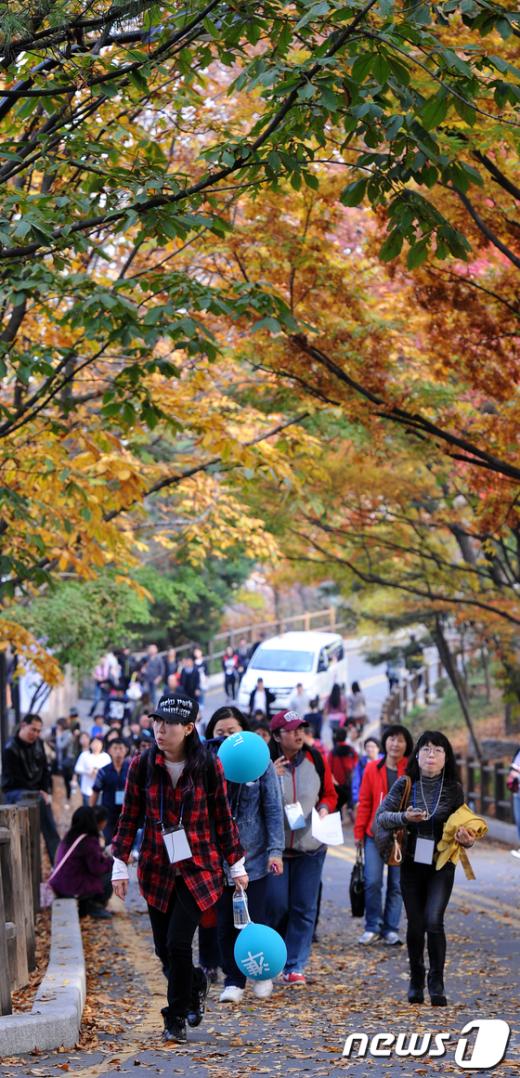 [사진]가을이 아름다운 남산