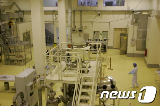 2009년 4월 가동을 시작한 이란 이스파한 핵연료 제조공장 AFP  News1