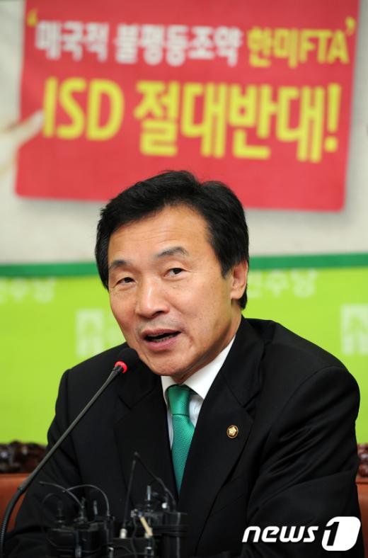 """[사진]손학규 """"MB정부, 시장만능주의가 부활"""""""