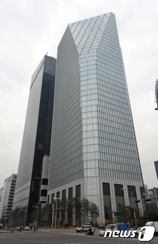 [사진]여의도의 랜드마크 서울국제금융센터 준공