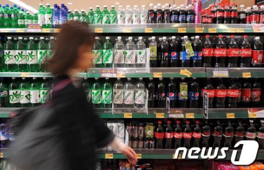 [사진]탄산음료 줄줄이 인상