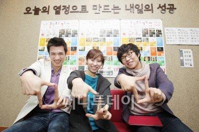 ▲ 올해 7월21일부터 7월31일까지 제1회 'QR코드 영화제'를 개최한 김영근(29) 오즈랩 대표를 강북청년창업센터에서 만났다.