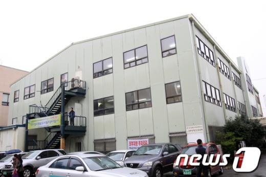 광주 서구 화정동 내일신문사 3층 건물  News1 김태성 기자