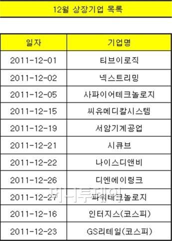 """코스닥 IPO """"해 넘기지 말자""""...9개 대기 중"""