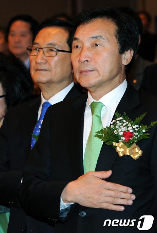 [사진]손학규 대표의 다짐