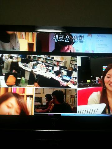 TV조선 방송 오류 화면(사진=트위터).  News1