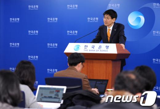 [사진]한국은행, 2012년도 국내 경제전망 발표