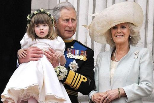 영국왕실의 2011년 크리스마스 카드에 실릴 사진 데일리메일  News1