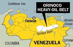 베네수엘라 오리노코강 원유벨트 지역  News1