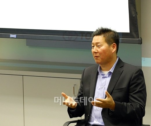 ↑데이비드 정 토요타 북미법인 광고전략담당 내셔널 매니저