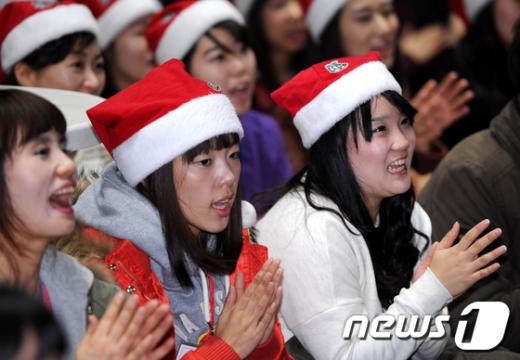 [사진]신이난 예비 산타들