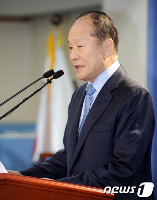 [사진]이상득 의원 '총선 불출마'