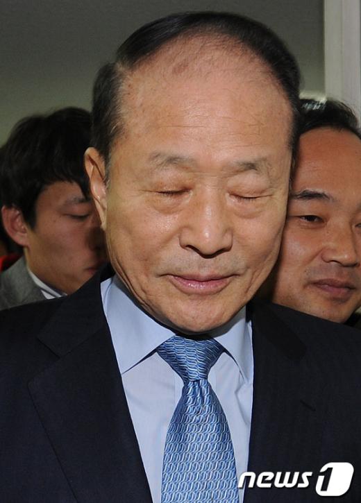 [사진]이상득 의원 '총선 불출마' 선언