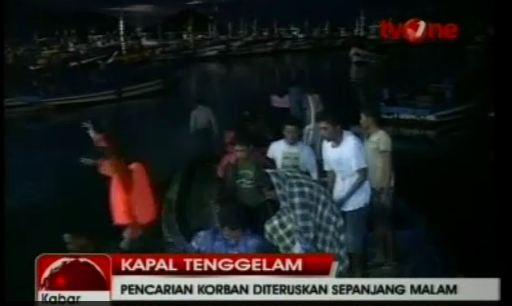 17일 밤 인도네시아 자바섬 부근에서 침몰한 호주행 밀입국선에서 33명이 구조됐다. (BBC) News1